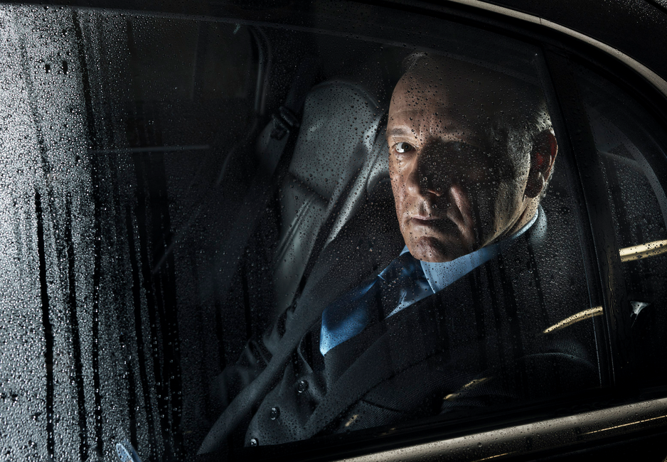 Kevin Spacey. Fotografiert am Set von «House of Cards» in Baltimore. (Credit: Marco Grob)