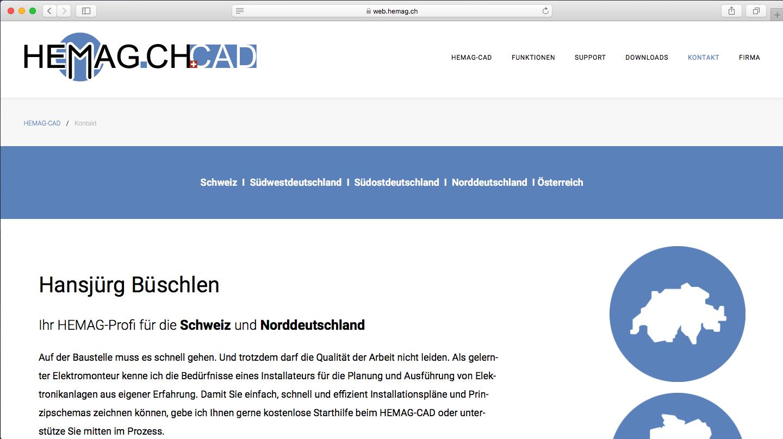 HEMAG ist in der Schweiz, Deutschland und Österreich tätig.