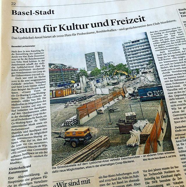 Heute in der @bzbasel.ch mit einem regionalen Thema. #lysbüchel #research #investigation 😉