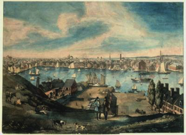 Federal Hill Harbor View - c183