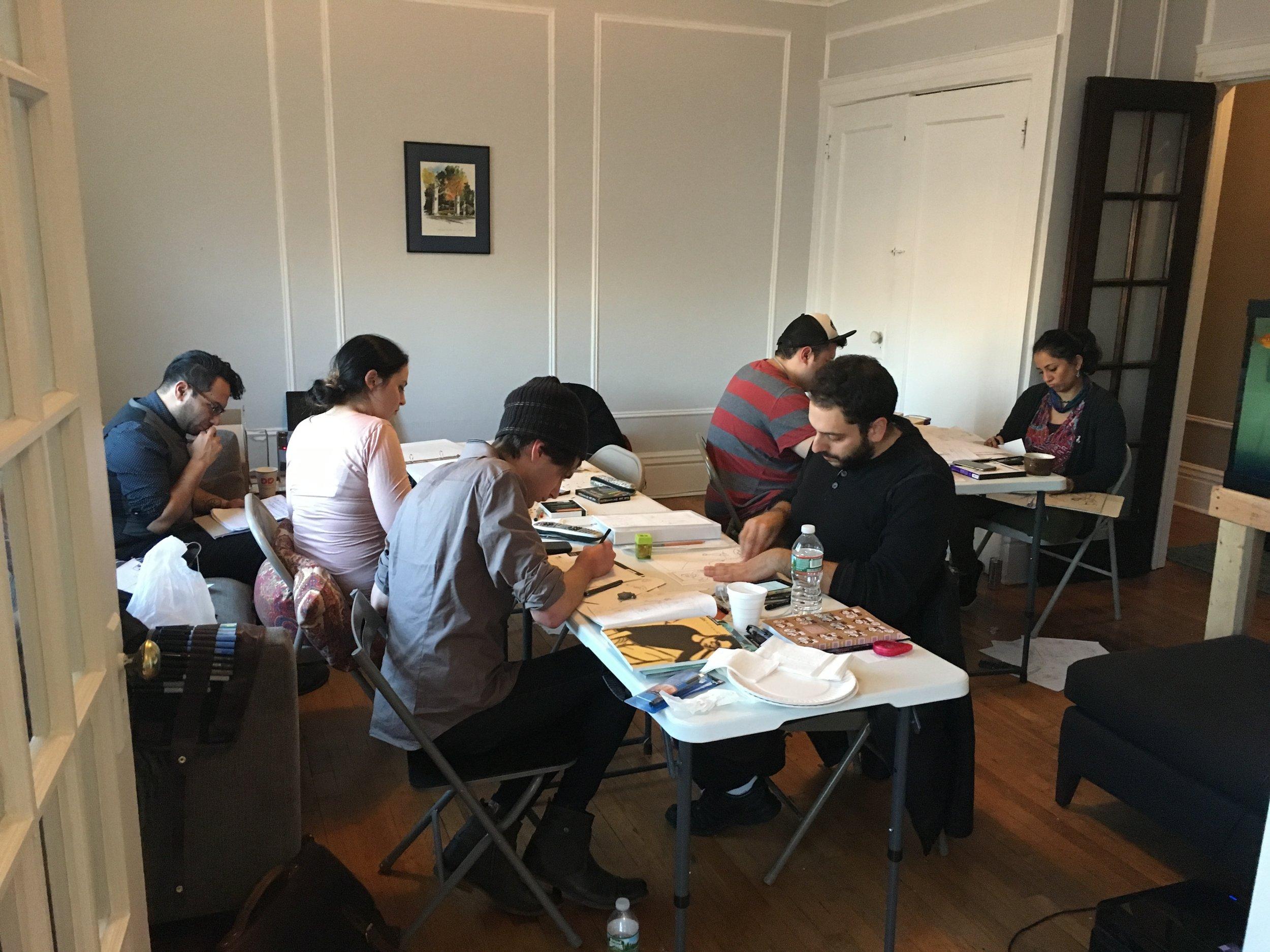 2016 Cohort At Work