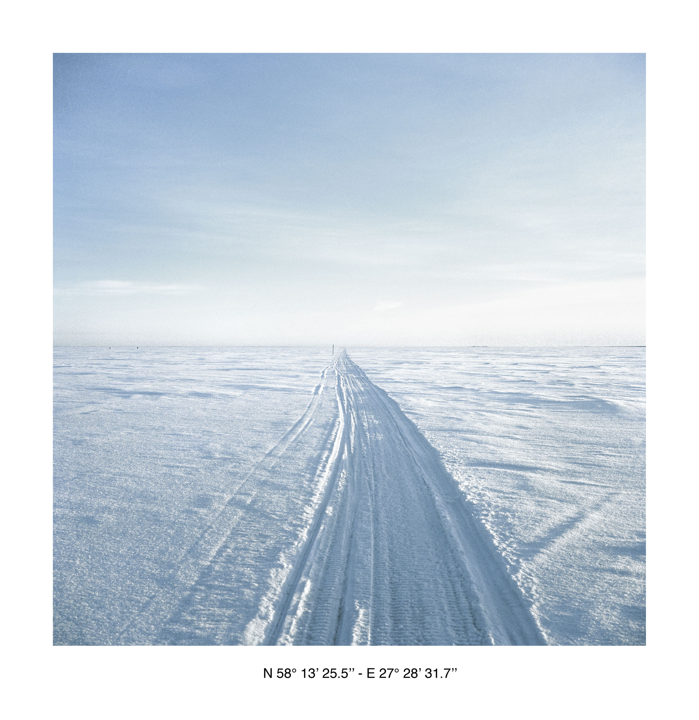 """Yann Mingard, de la série """"East of a New Eden"""", 2001-2002"""