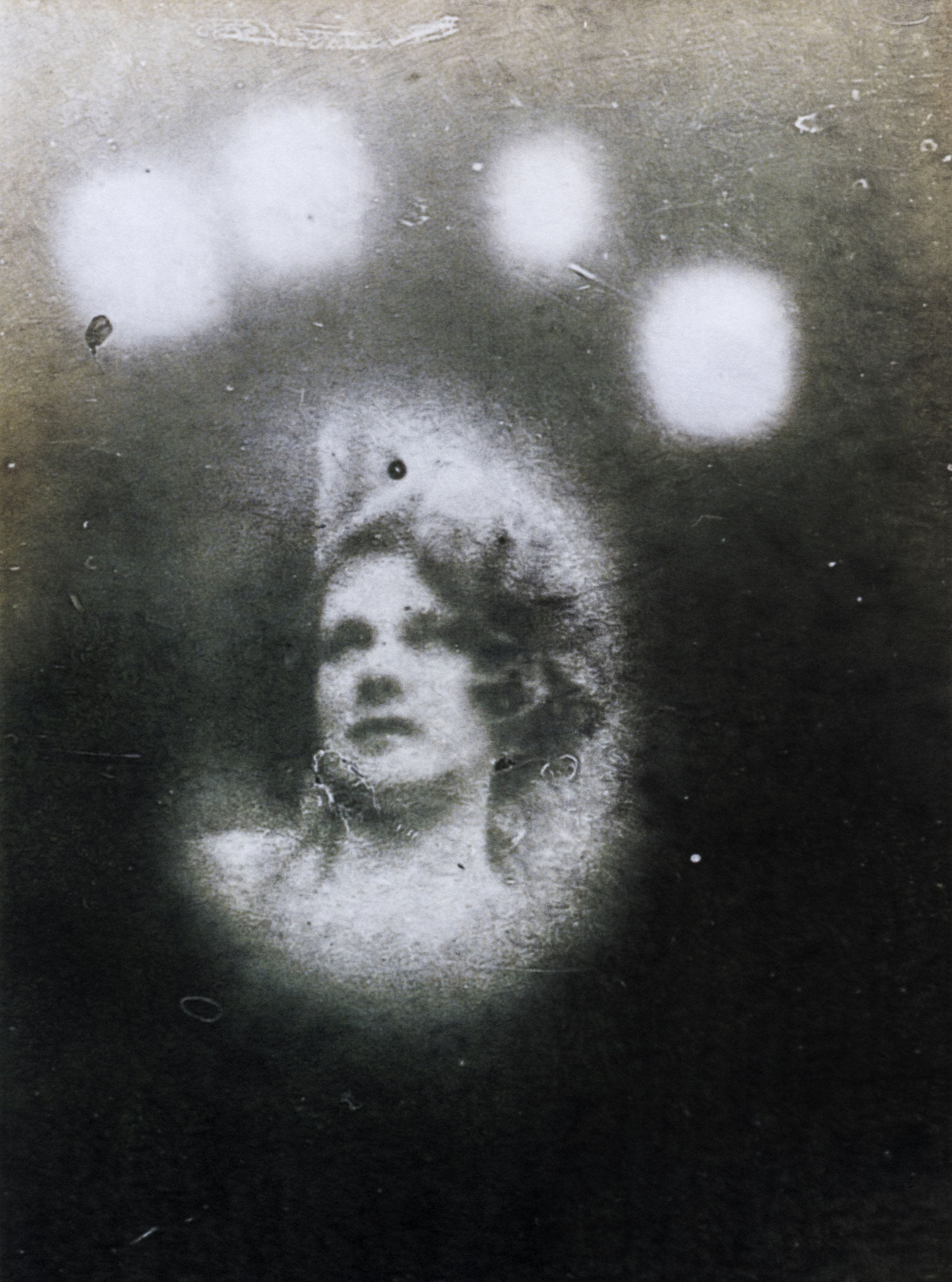 """Éric Manigaud, """"Madge Donohoe #14"""", mine de plomb et poudre de graphite sur papier avec trame digigraphique, 60 x 80 cm, 2015"""