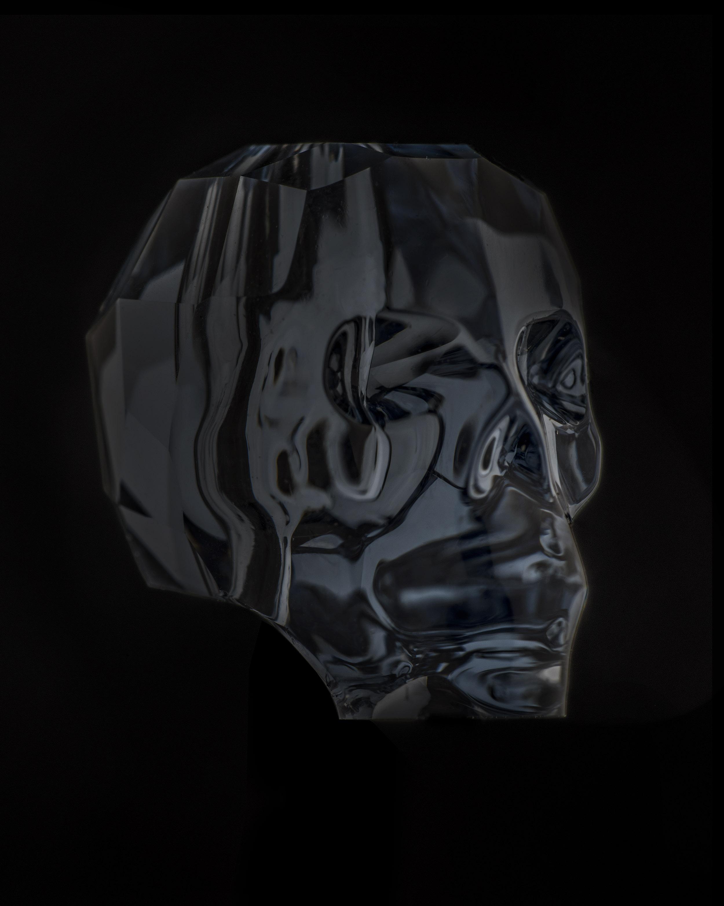 """Matthieu Gafsou, """"Skully"""", de la série """"Les Hommes-chose"""", tirage pigmentaire, 80 x 100 cm, 2015-en cours, éd.3/5+1AP"""