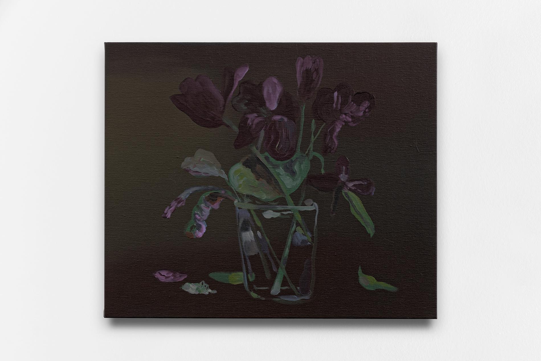 """Françoise Pétrovitch, """"Vanité"""", 60 x 50 cm, 2016"""
