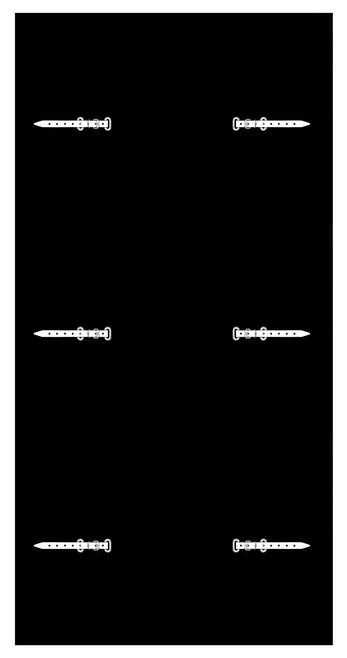 """Fabrice Gygi, """"Bâche, oeillet, sangle"""", linogravure,200 x 110 cm, édition sur demande"""