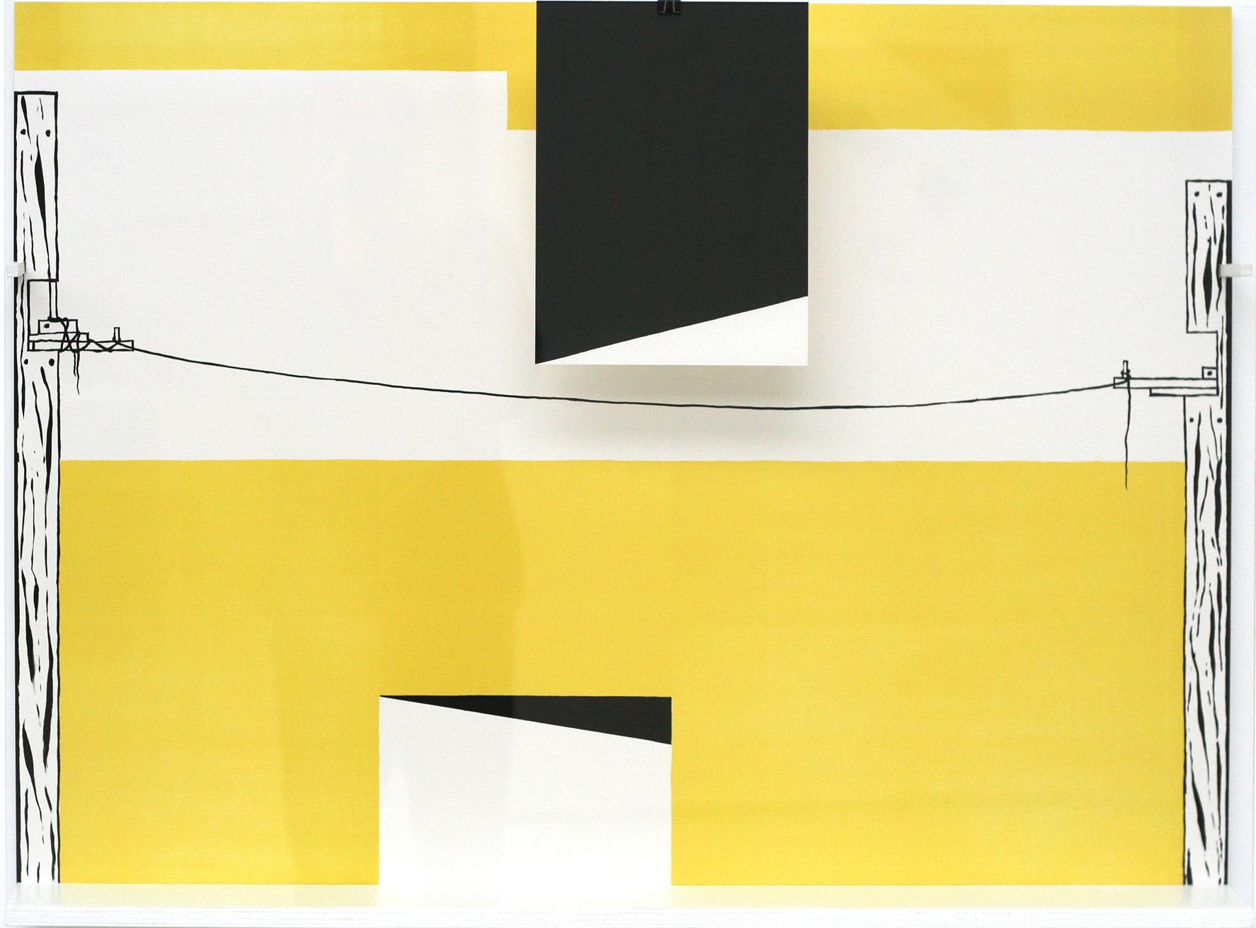 """Olivier Nottellet, """"Solitaires"""", lithographie,76 x 103,5 cm, édition sur demande"""