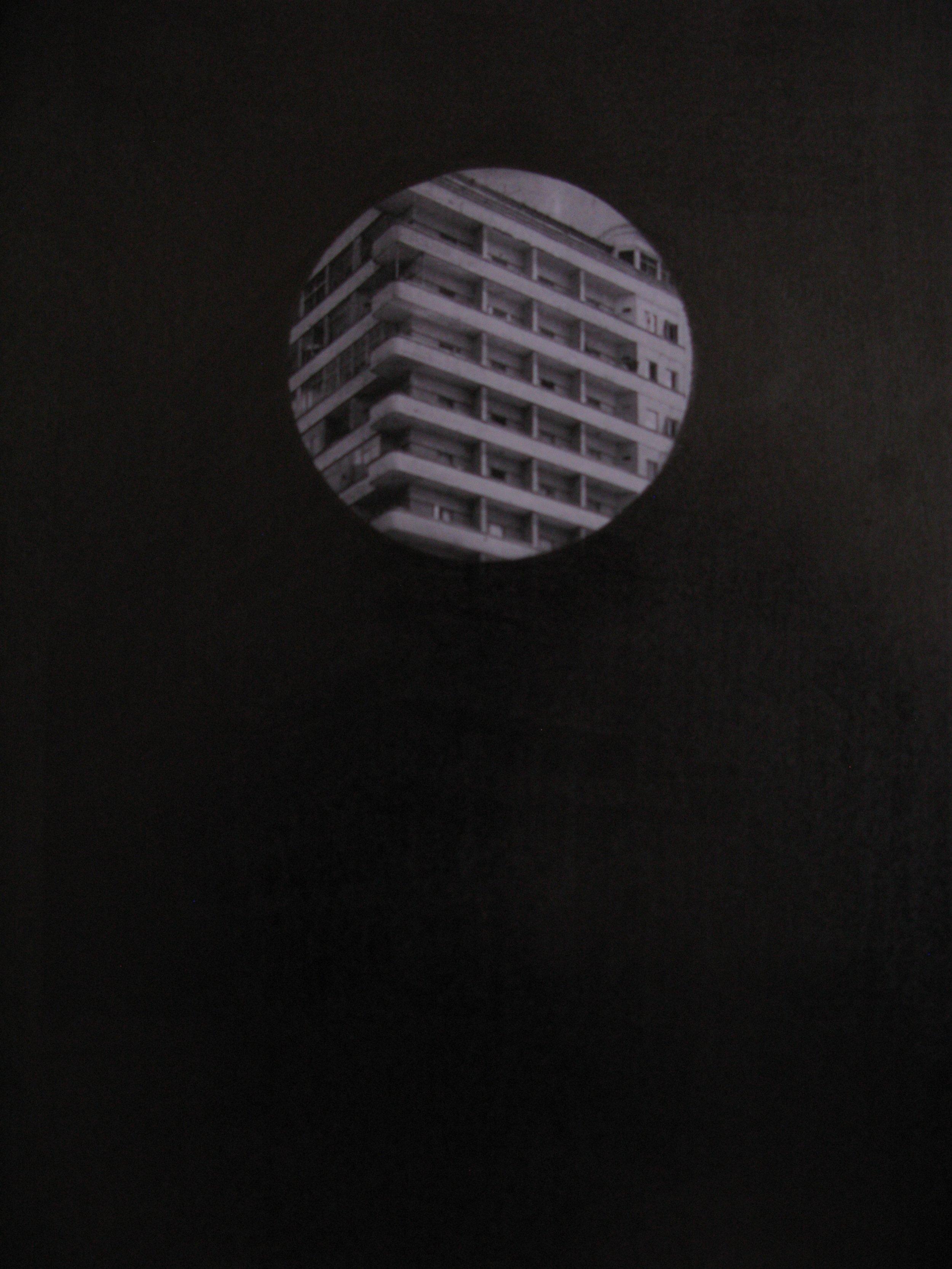 """Jean-Christophe Norman, """"123 km"""", graphite sur photocopie, Montevideo - Buenos Aires - Paris, 21 x 29,7 cm 2011"""
