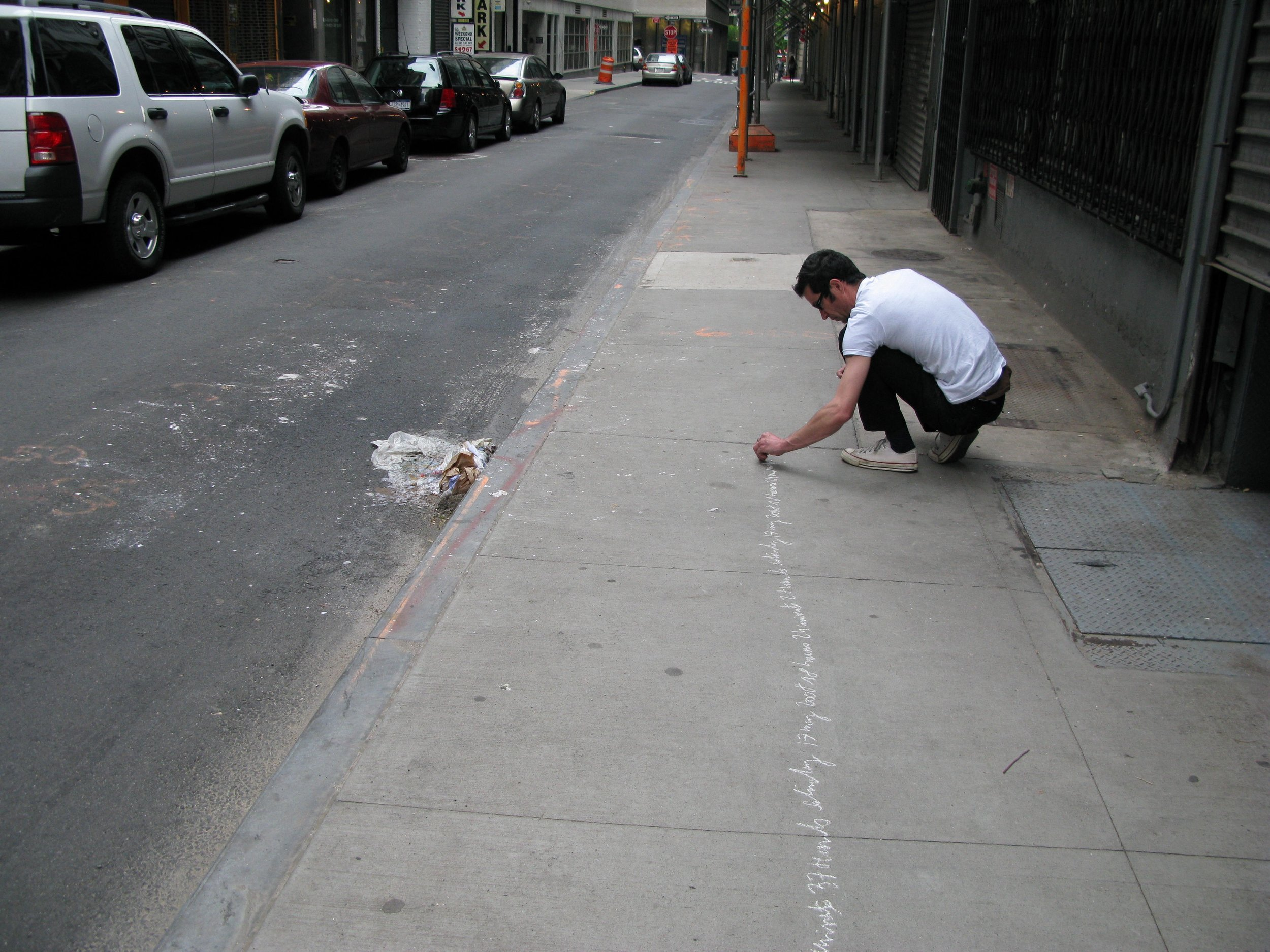 "Jean-Christophe Norman, ""Crossing New York"", 2008"