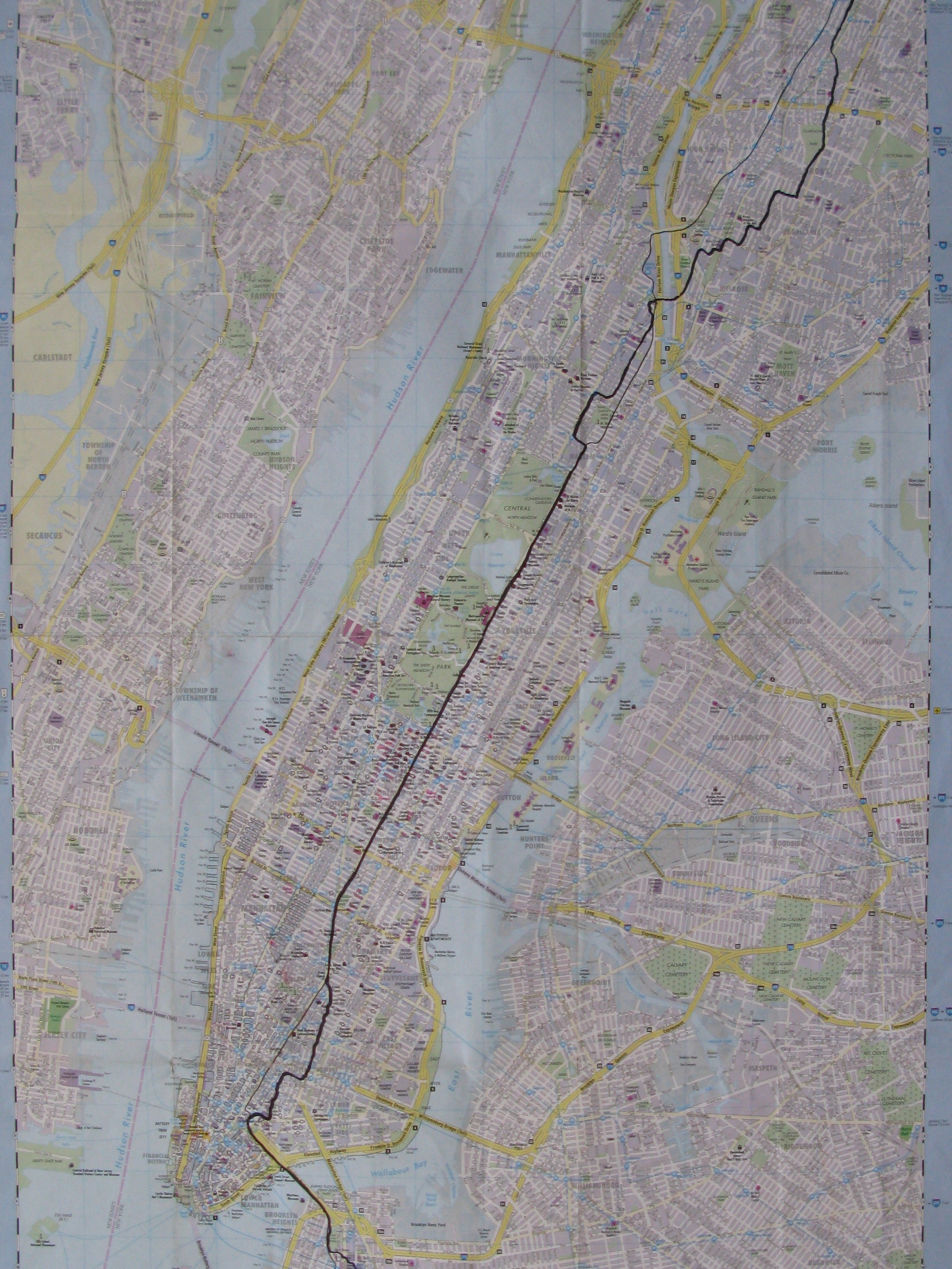 "Jean-Christophe Norman, ""Crossing New York"", 2008, Collection FRAC Franche-Comté"