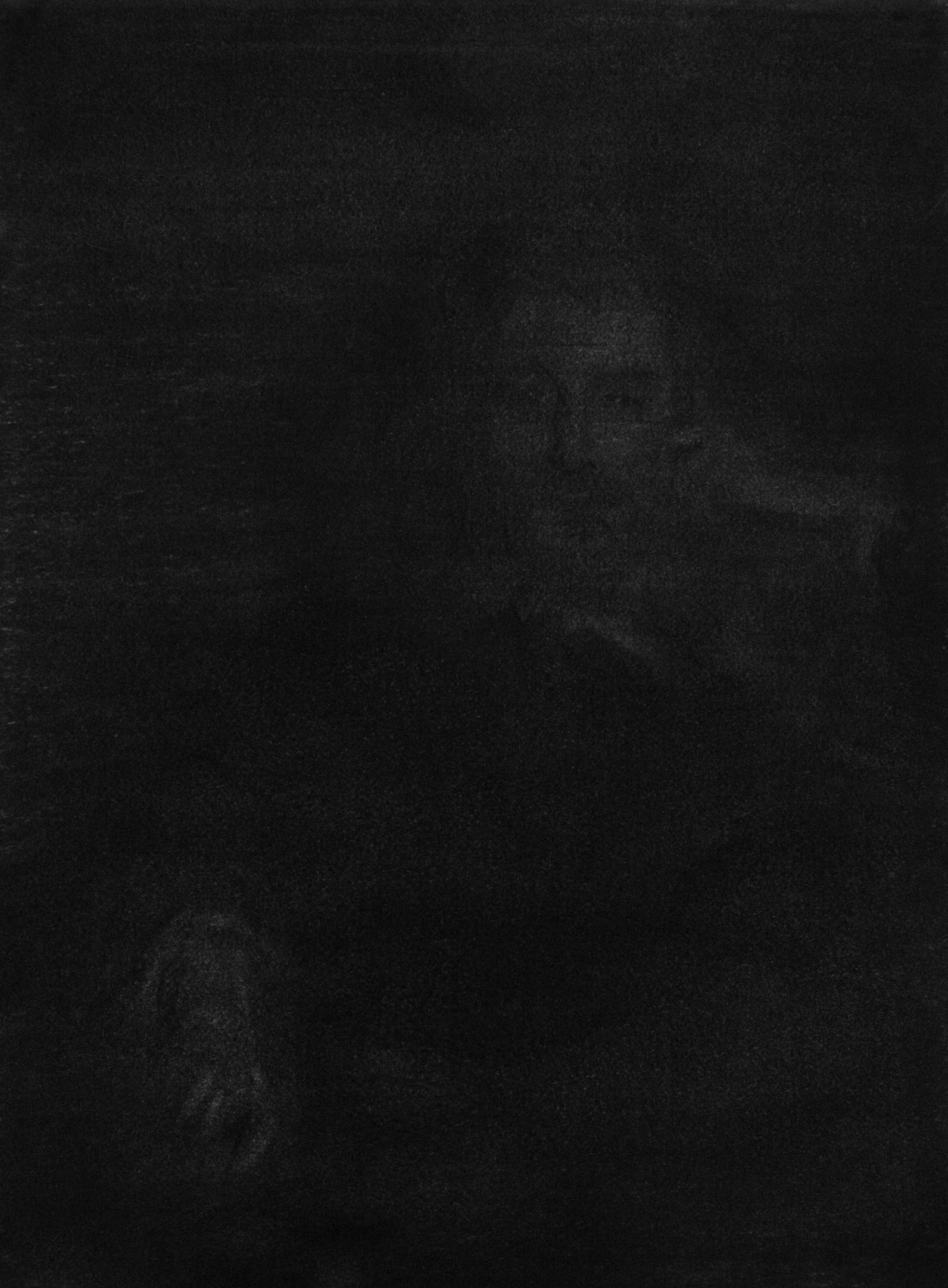 """Jérémie Bennequin, """"Charles Baudelaire 2"""", fusain sur papier, 20 x 29 cm, 2015"""