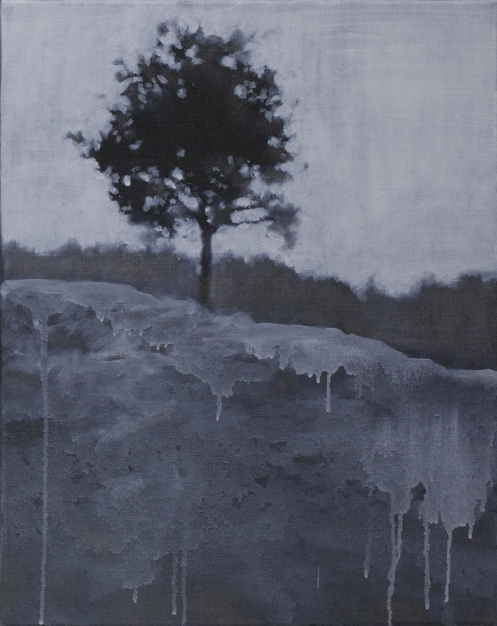 """© Mingjun Luo, """"Tu es un arbre"""", 50x40cm, 2018, Courtesy Galerie C."""