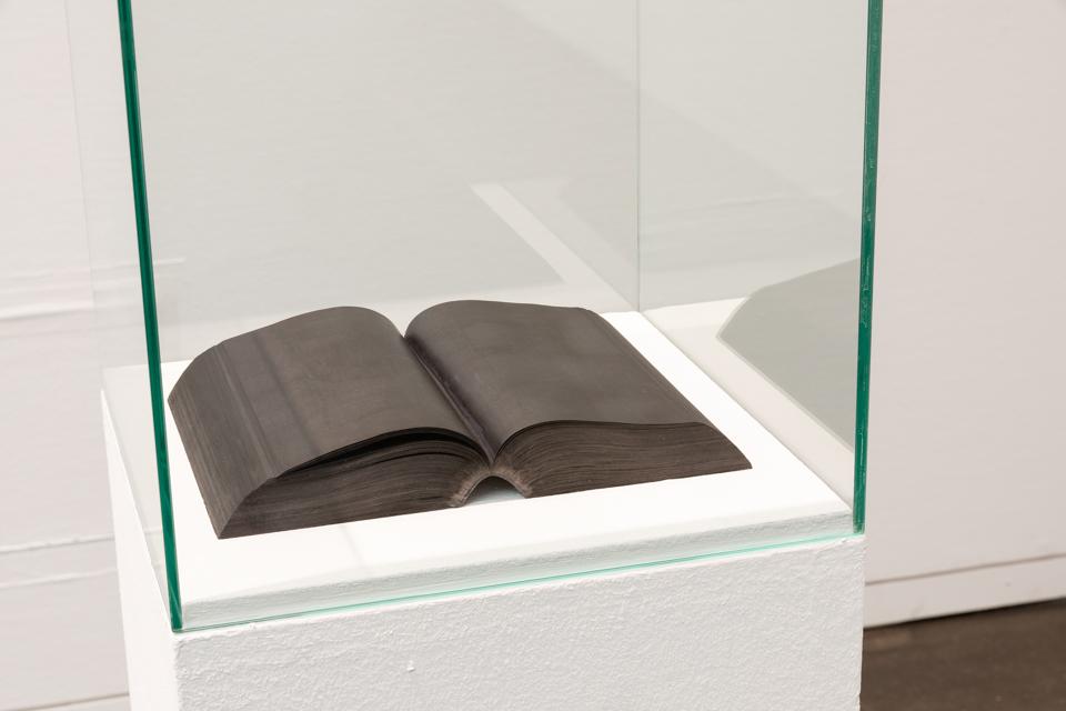 """© Jean-Christophe Norman, """"Ulysses (James Joyce)"""", encre et graphite sur papier, 2017-2018, Courtesy Galerie C"""