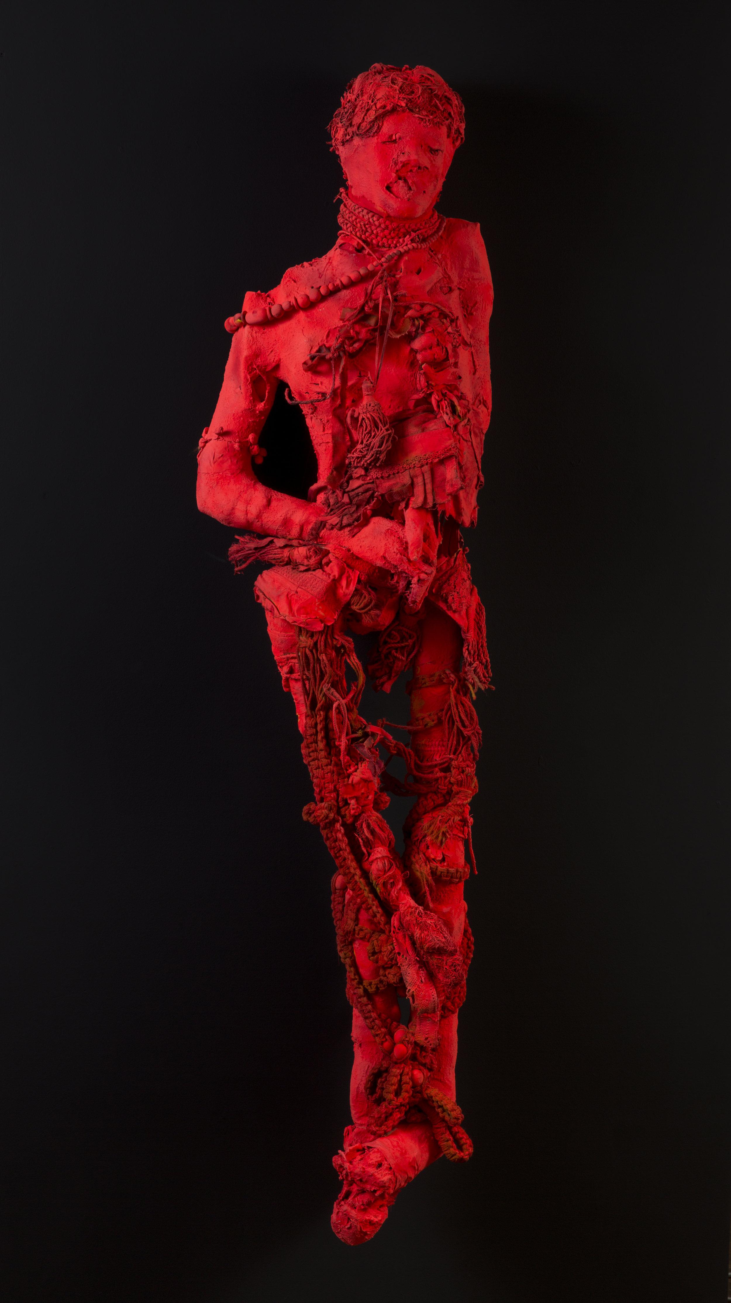 """© Benoit Huot, """"PHOSPHORESCENCE"""" in LA NUIT DU PAON, techniques mixtes, 2019, Courtesy Galerie C"""