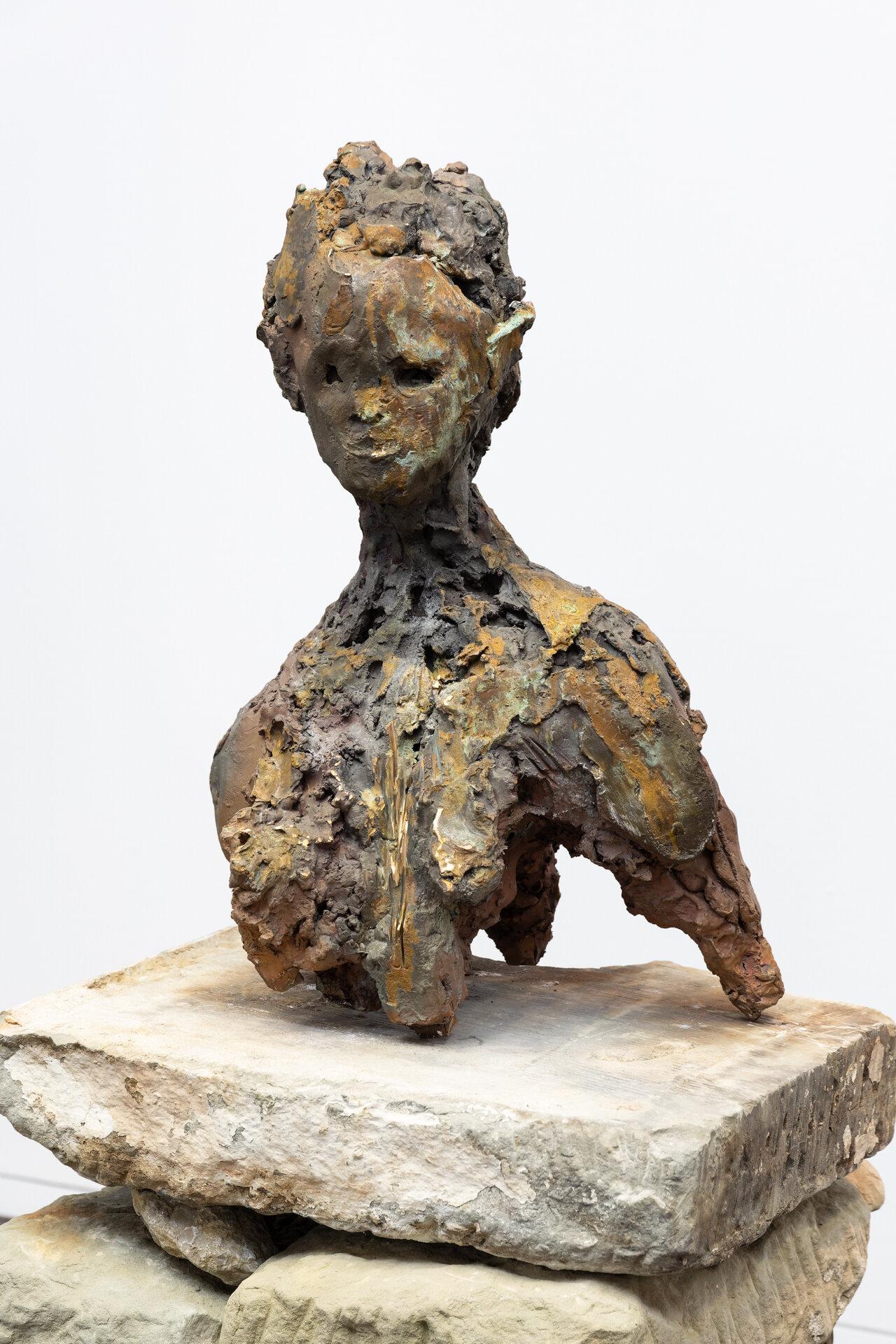 © Lionel Sabatté,  Firinga , bronze, 60x40x28 cm, 2019, tirage unique.