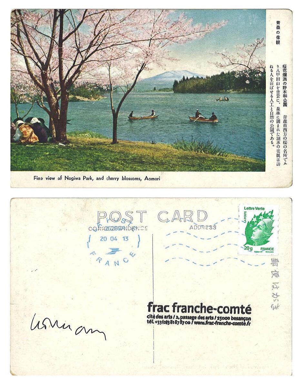 © Jean-Christophe Norman, Cartes postales du Mont Fuji, 2013, Collection Frac Franche-Comté
