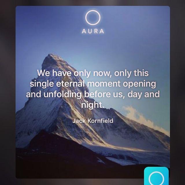 Hoe simpel kan 't zijn? #aura