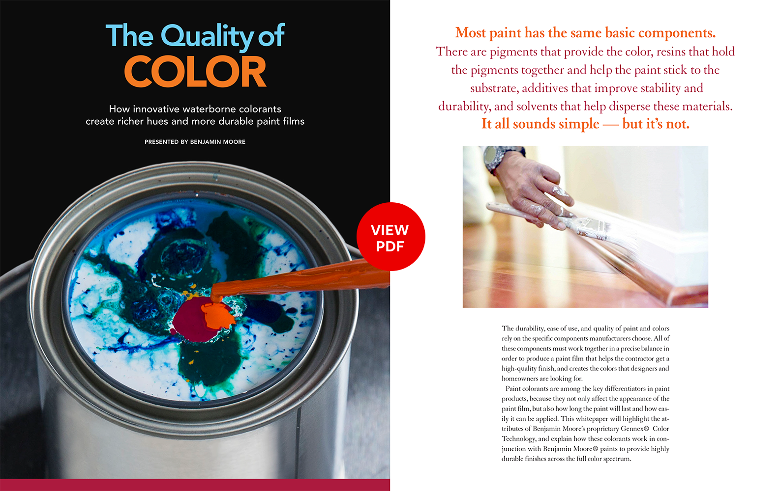 Benjamin Moore Advertorial