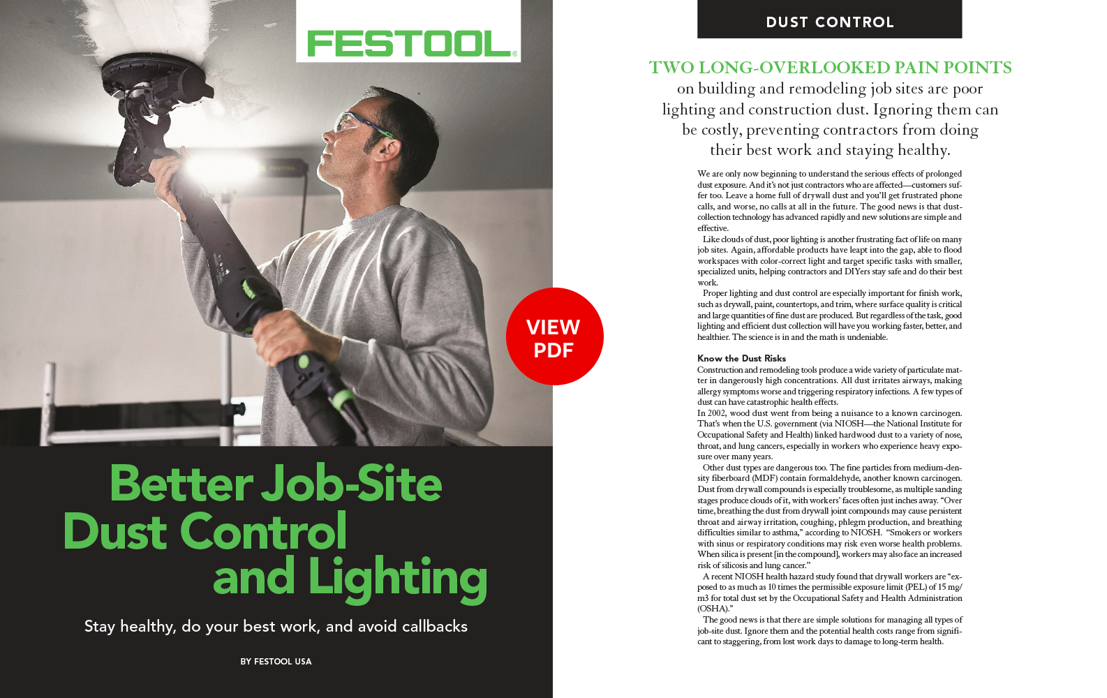 Festool Advertorial
