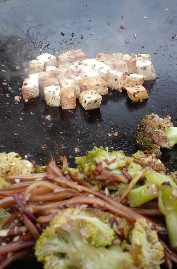 Teriyaki Vegetable & Tofu Stir-Fry