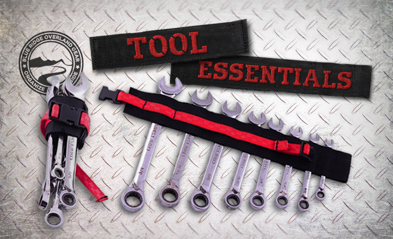 Introducing the 10-slot wrench roll. Always have your wrenches in line!
