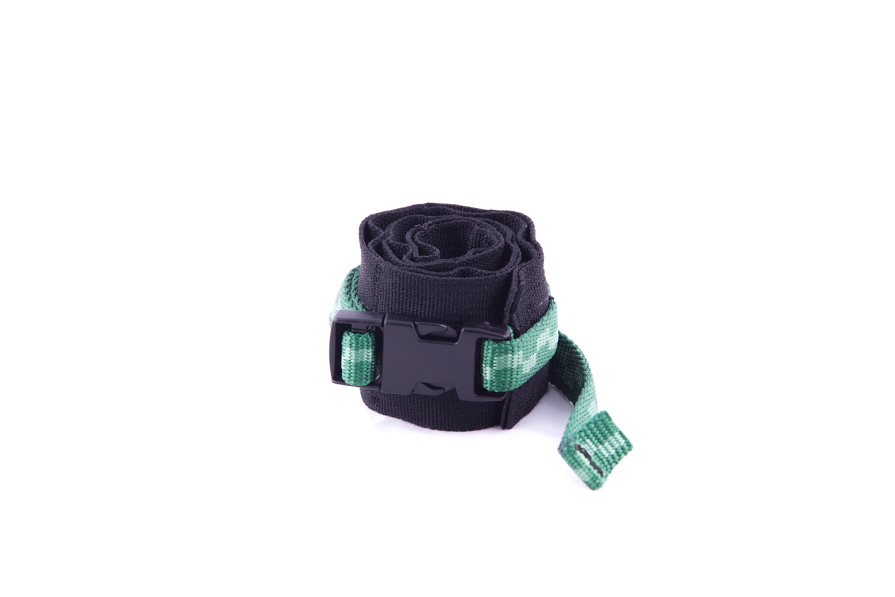 The roll secures with a Fastex Buckle.