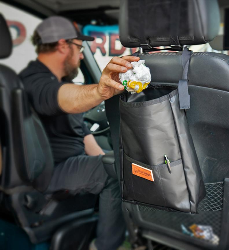 The Headrest Trash Bag