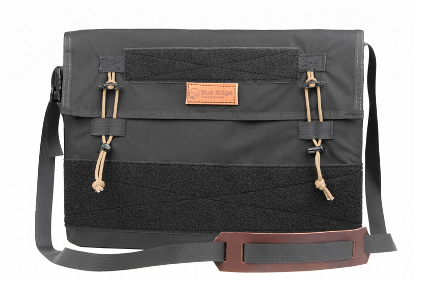 Flat Top - Messenger and Trip Planning Bag