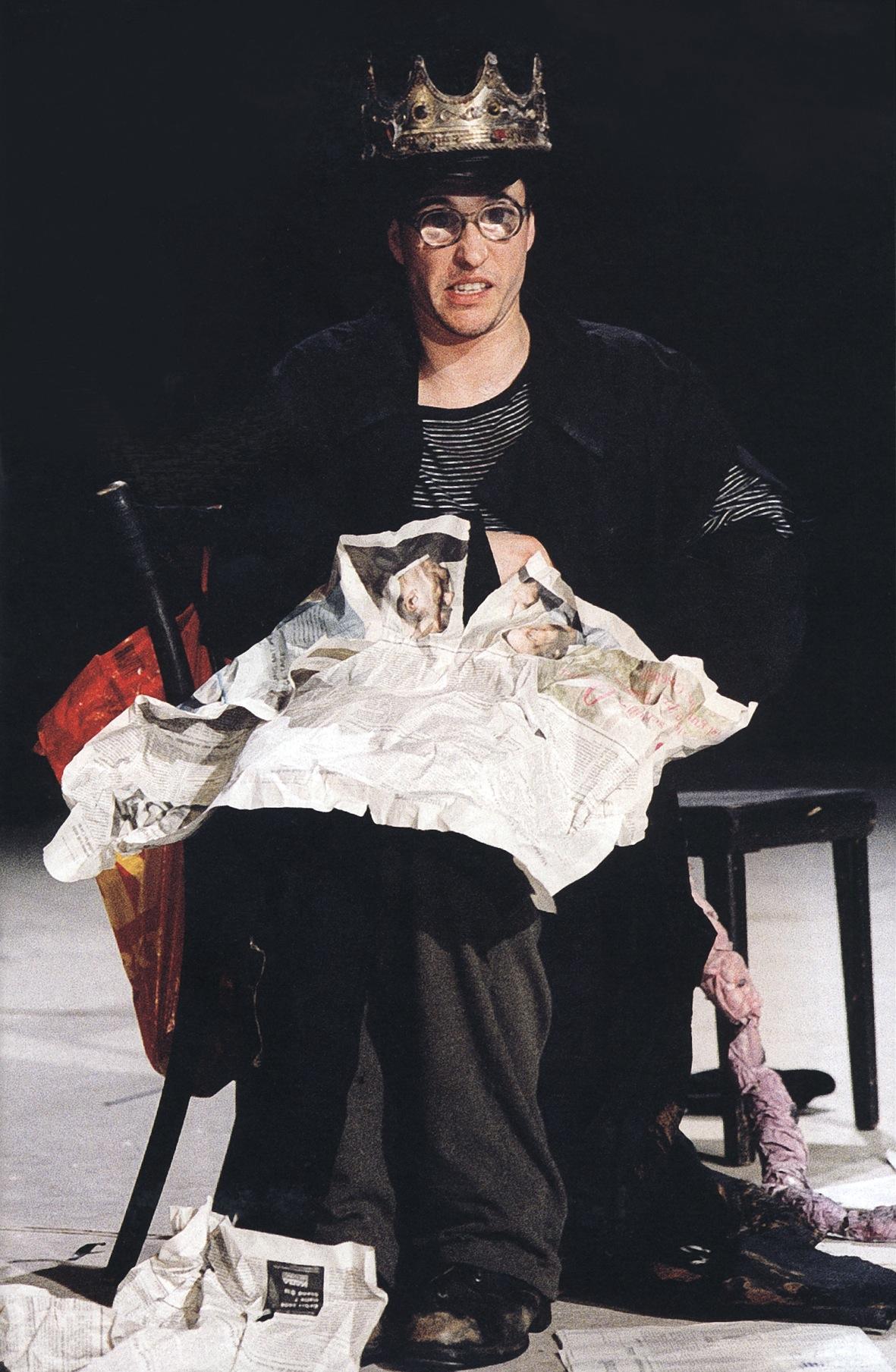 """""""Trollkönig""""-Peer Gynt"""", Regie Peter Zadek, Berliner Ensemble"""