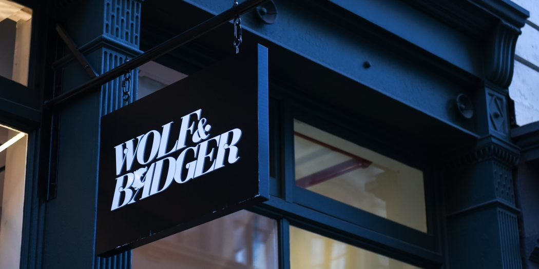 Wolf and Badger store in New York city