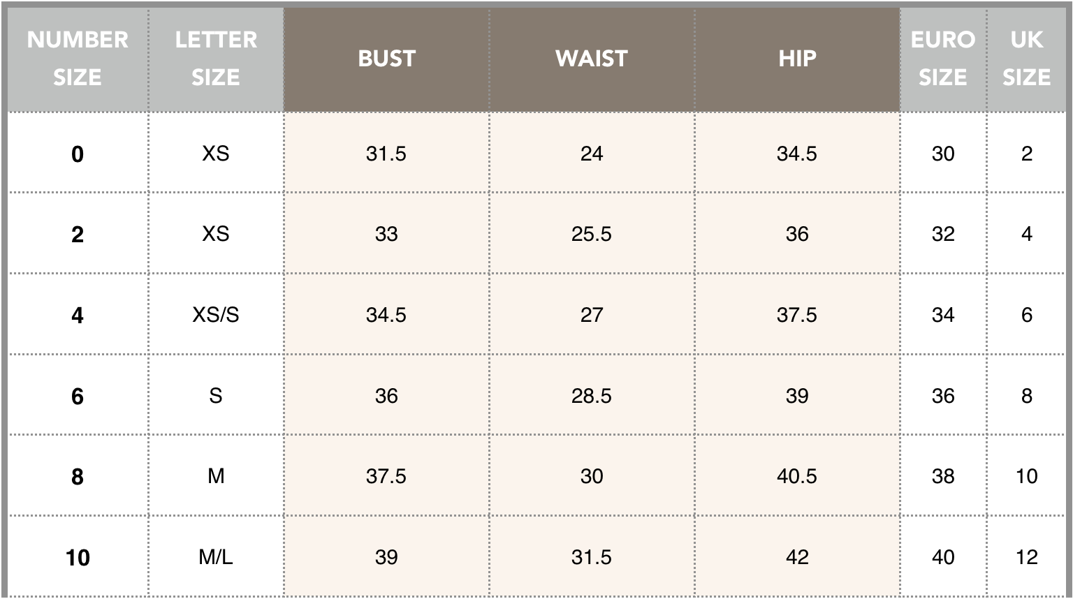 Size Guide table SS18.png