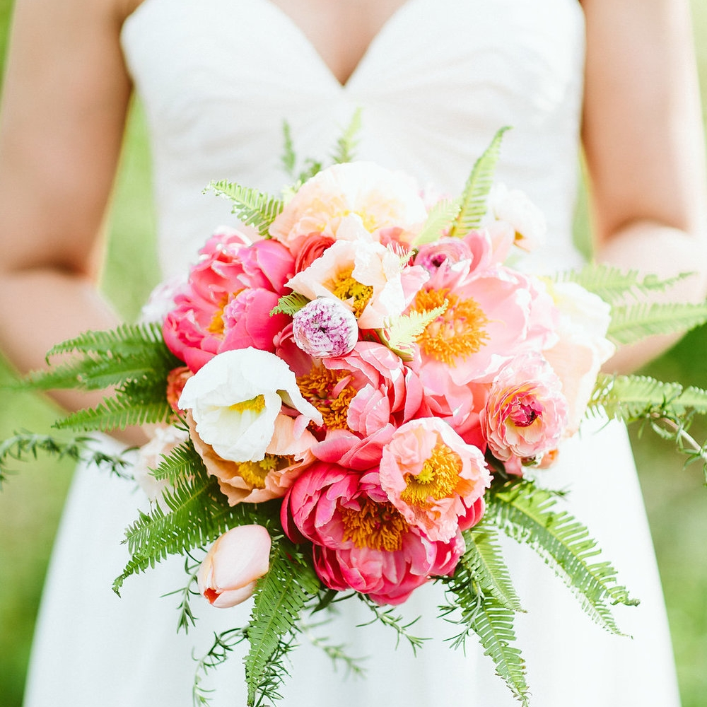 Perfectly Pink & Gold Wedding