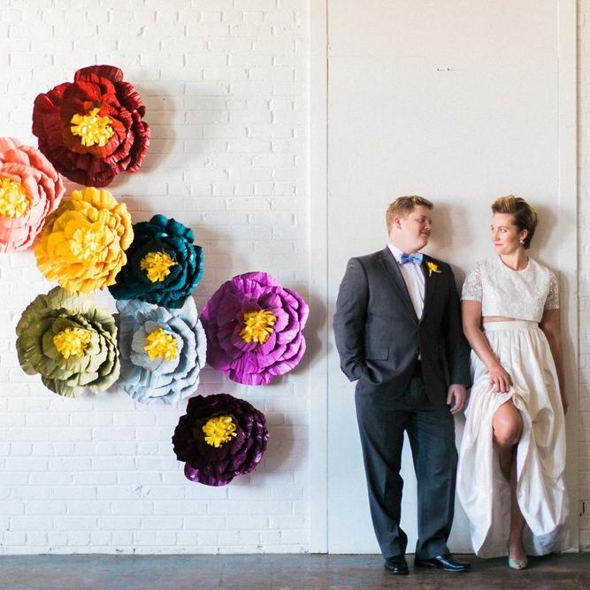 Rainbow Wedding Inspiration