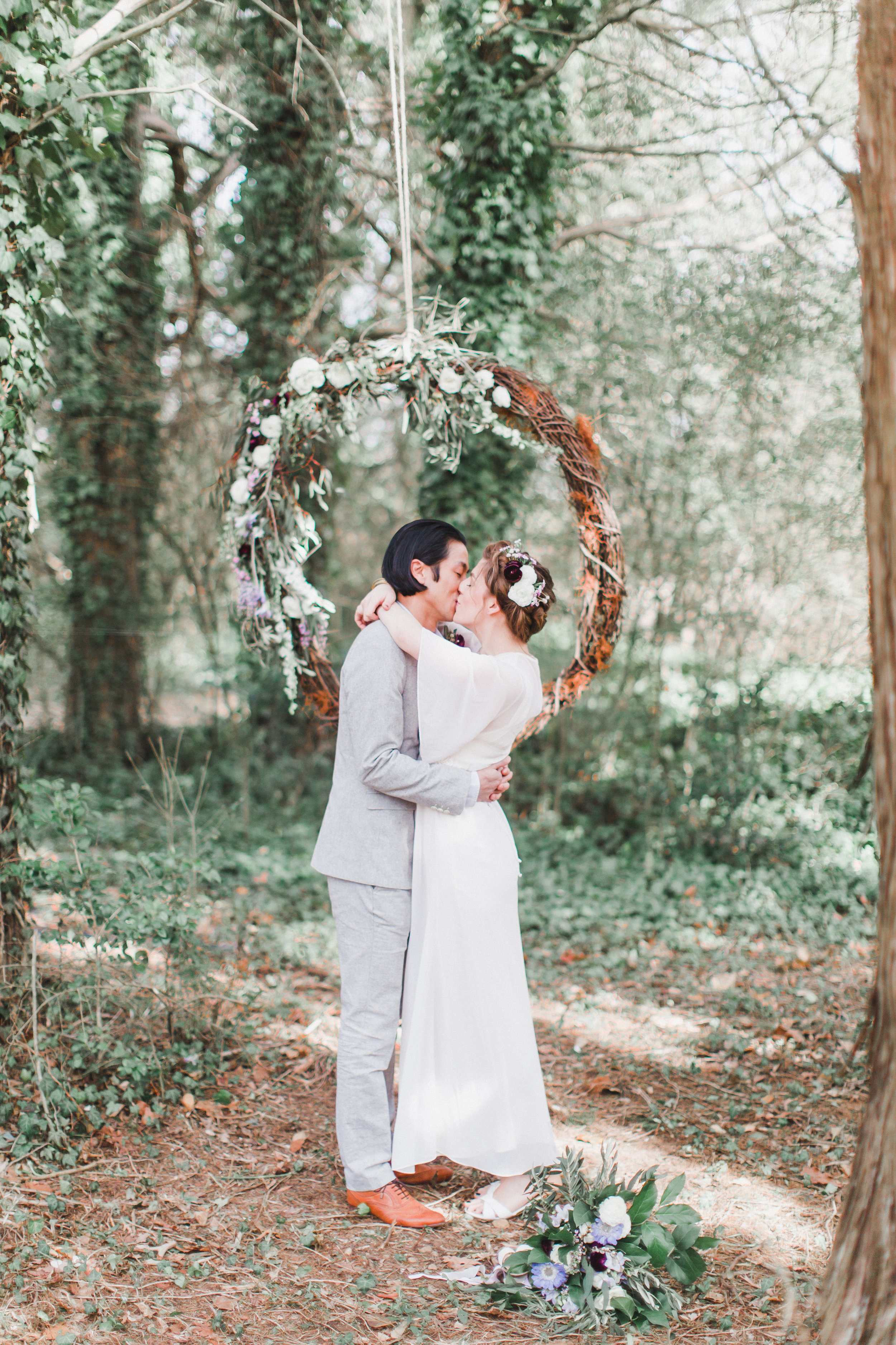 Woodland Elopement Styled Shoot