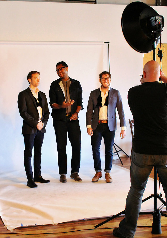 After completing their run through and rack check each designer or design team was photographed for their official headshots with KCFW Photography Director,   Jason Atherton   .