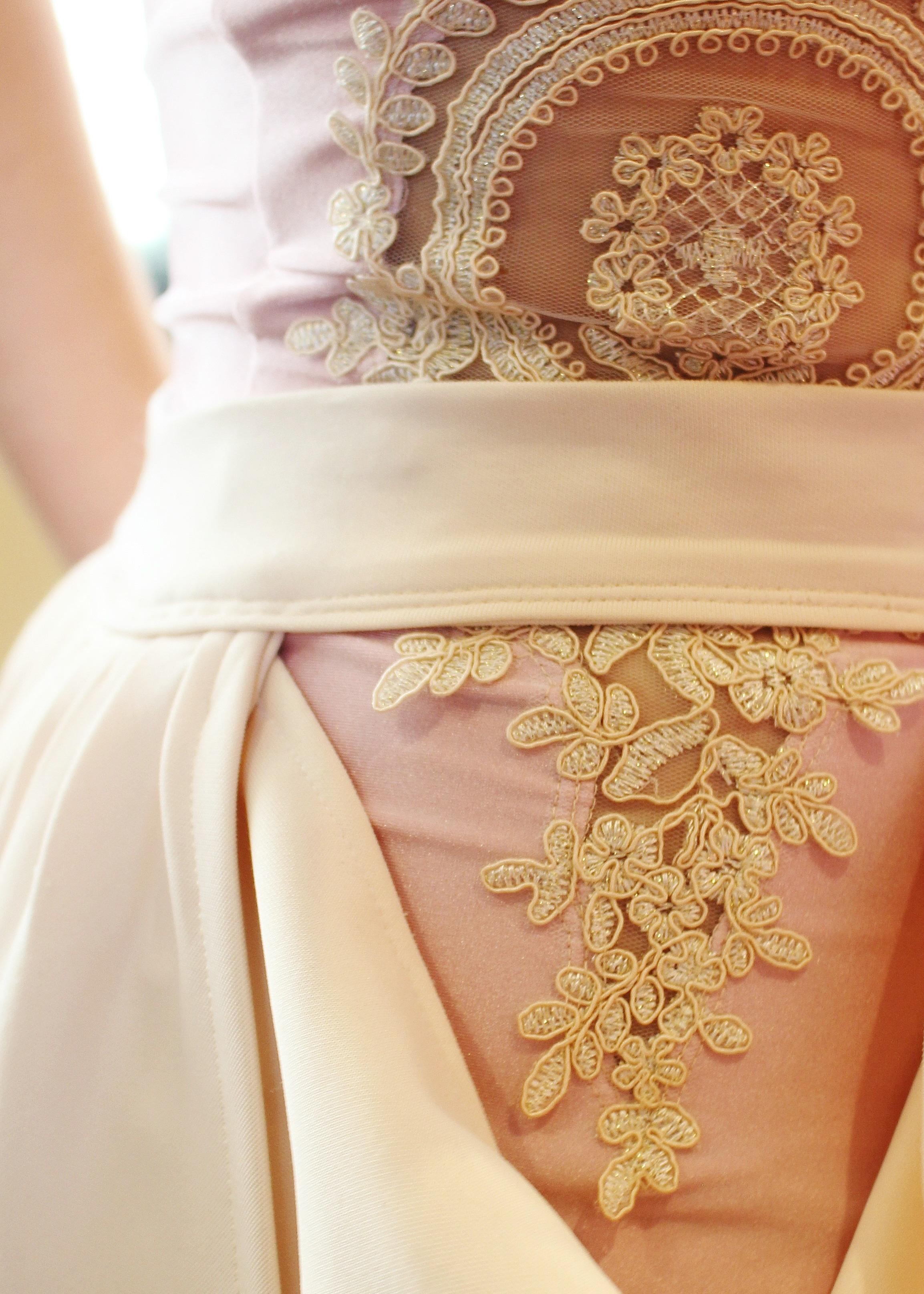 Beautiful lace details