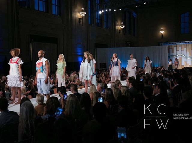 Thank you to everyone who joined us at last night's *sold out* runway shows! There's still time to grab your tickets for tonight to see the new collections from from @duanetopping1, @rachelpollakdesigns, @houseof_pamelarenee, @trulyalvarenga, @eddiebauer, @rissas_artistic_design, @crystalbrakhagedesigns, and @bylauracitron! Just click the link in our bio. Plus, join us @mosaickc for the official KCFW Friday After-Party with DJ @ericcoomes. (After-Party: Must be 18+ to enter, 21 to drink) • • Designer: @maangstudios  Photographer: @larryflevensonphotography