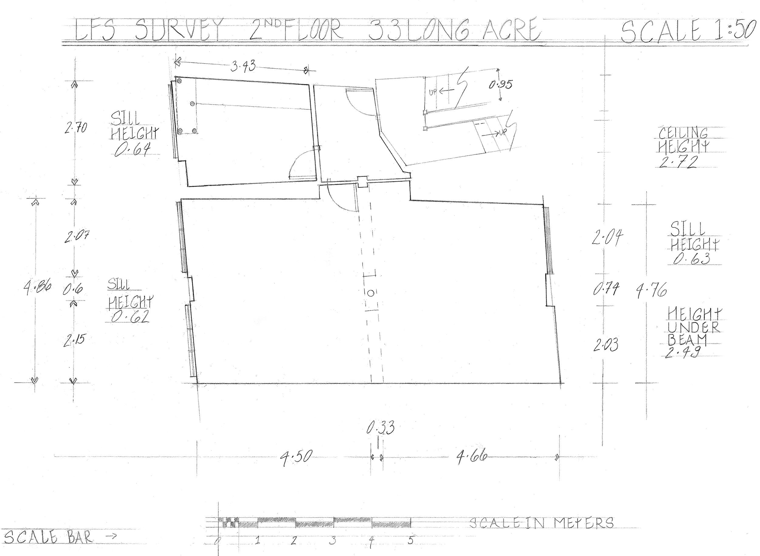 Survey of an Edwardian interior, Covent Garden