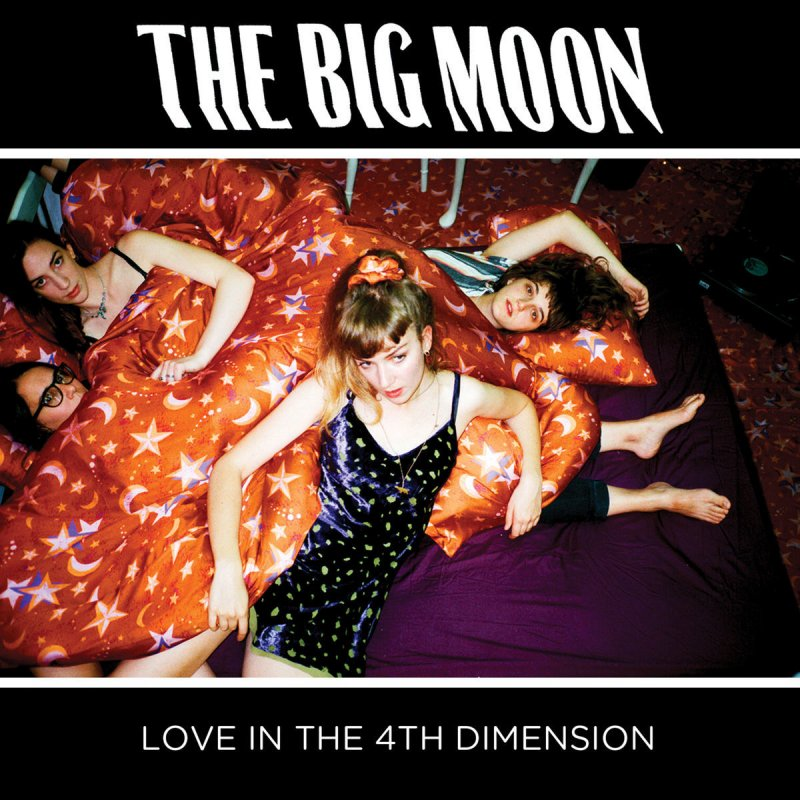 The Big Moon, album cover shoot, construction and Art Direction