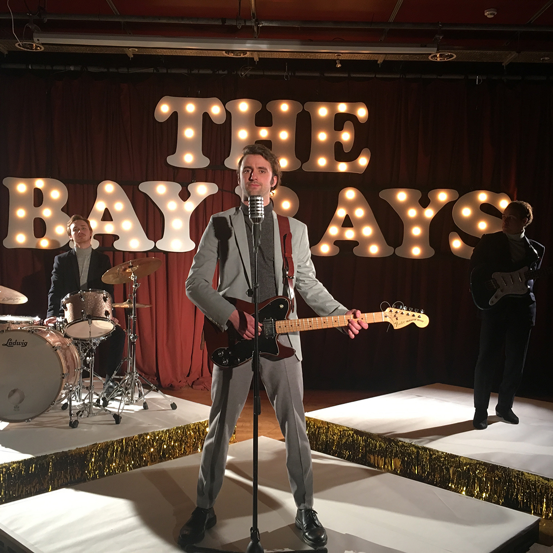 Production design and costume   The Bay Rays - Satisfaction, music video