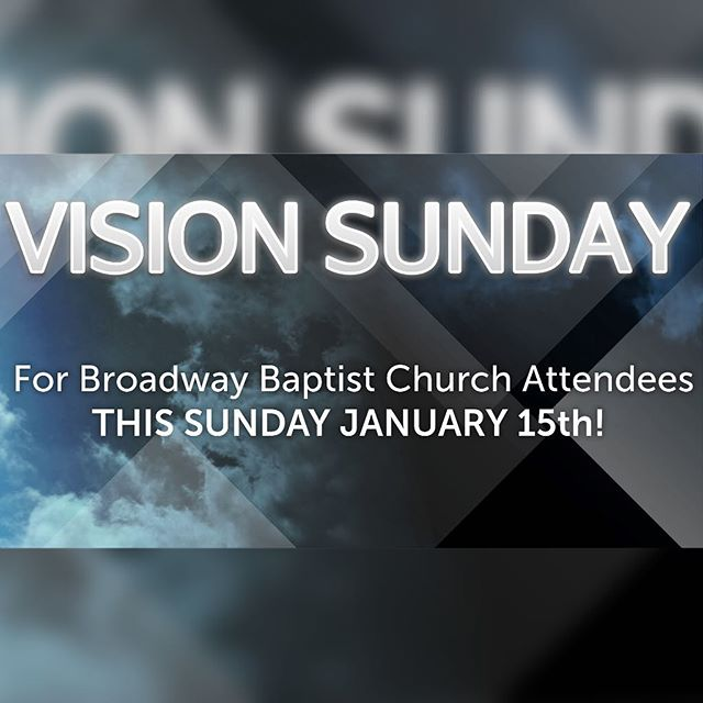 THIS SUNDAY!!!