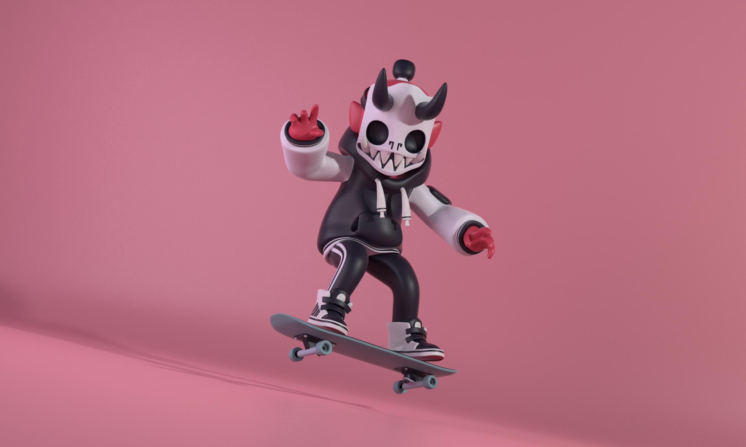 The Skater Boy