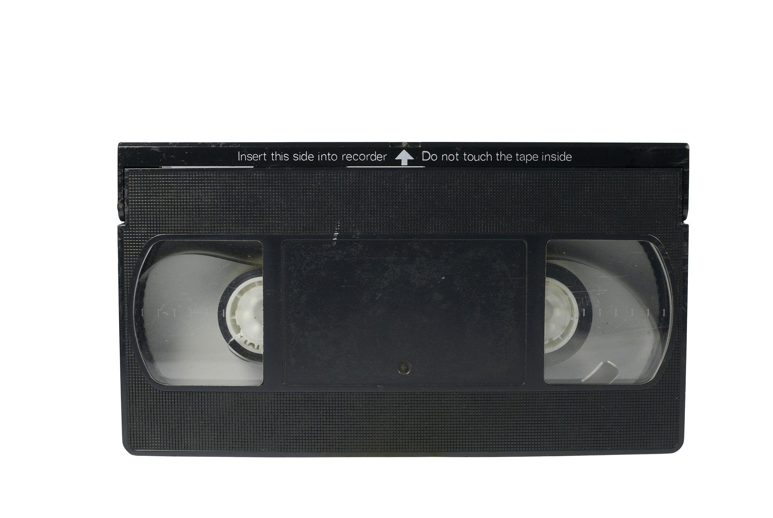 VHS Tape: Be Kind! Rewind!