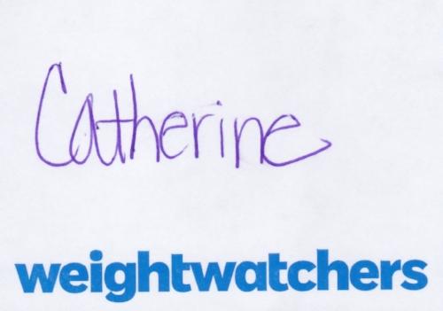 Catherine Weight Watchers Nametag.jpeg