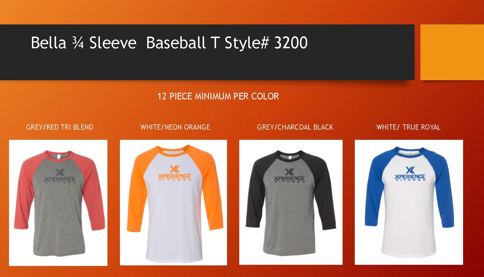 MORE COLOR OPTIONS AVAILABLE