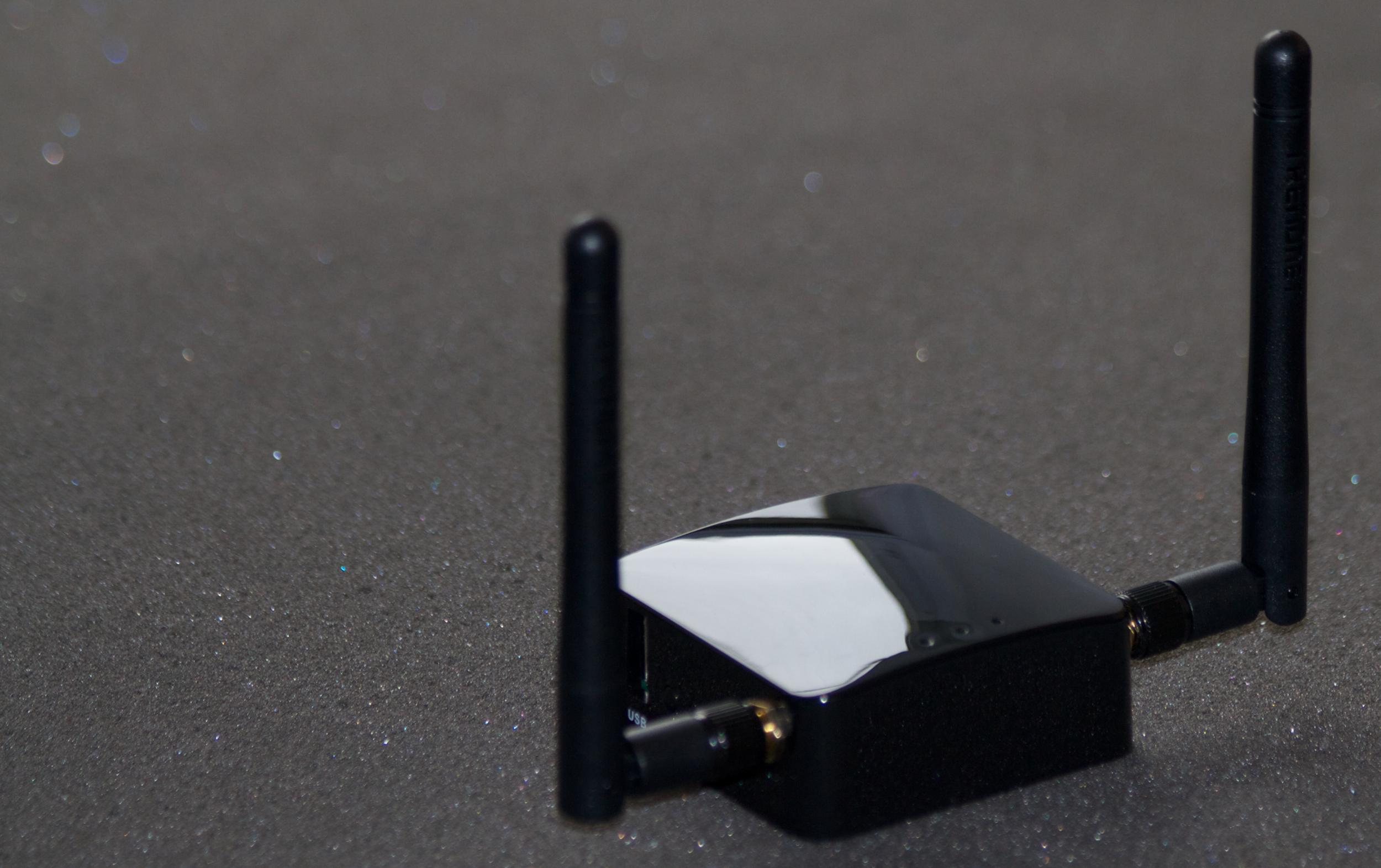 The Singularity with External Antennas