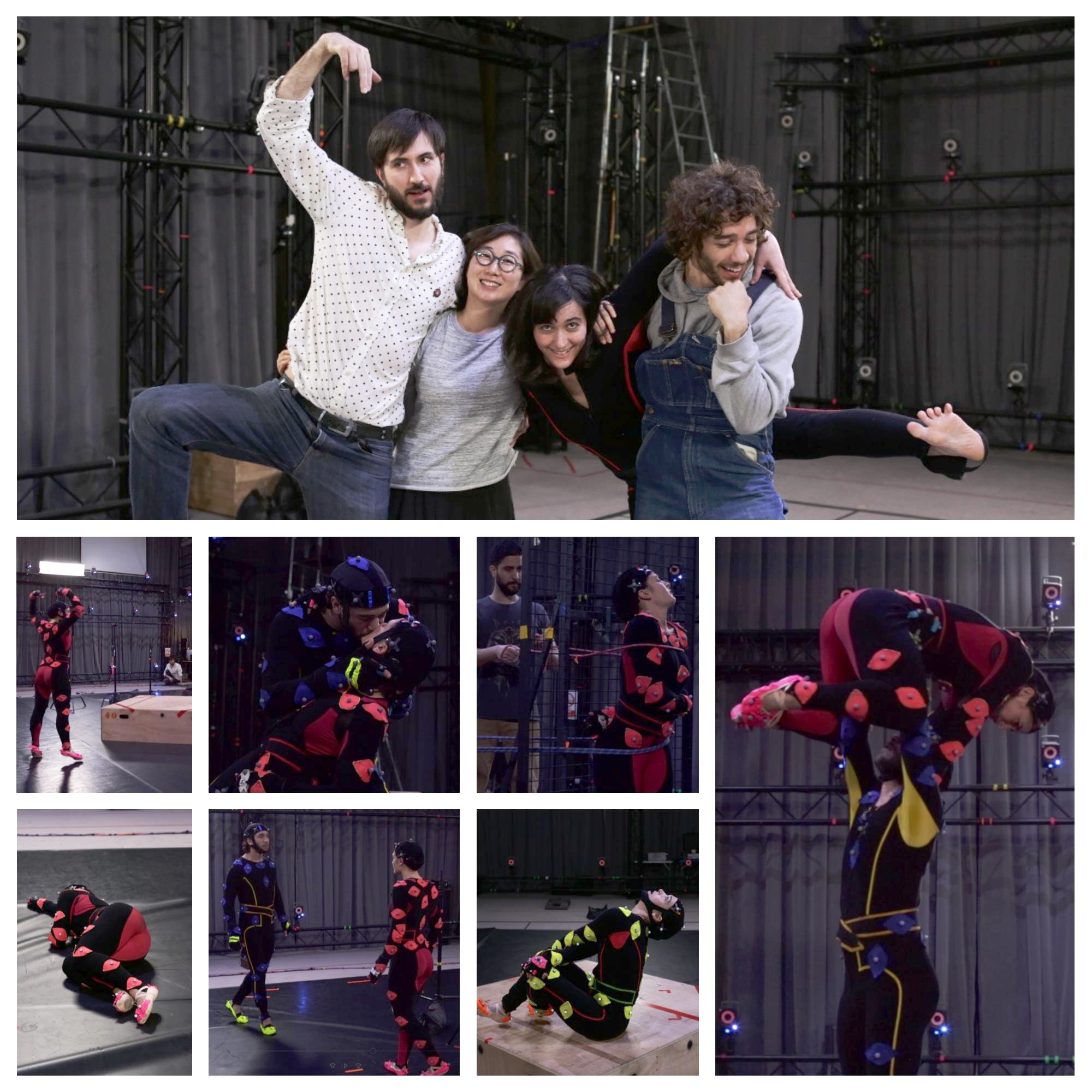 What one day of motion capture look like !