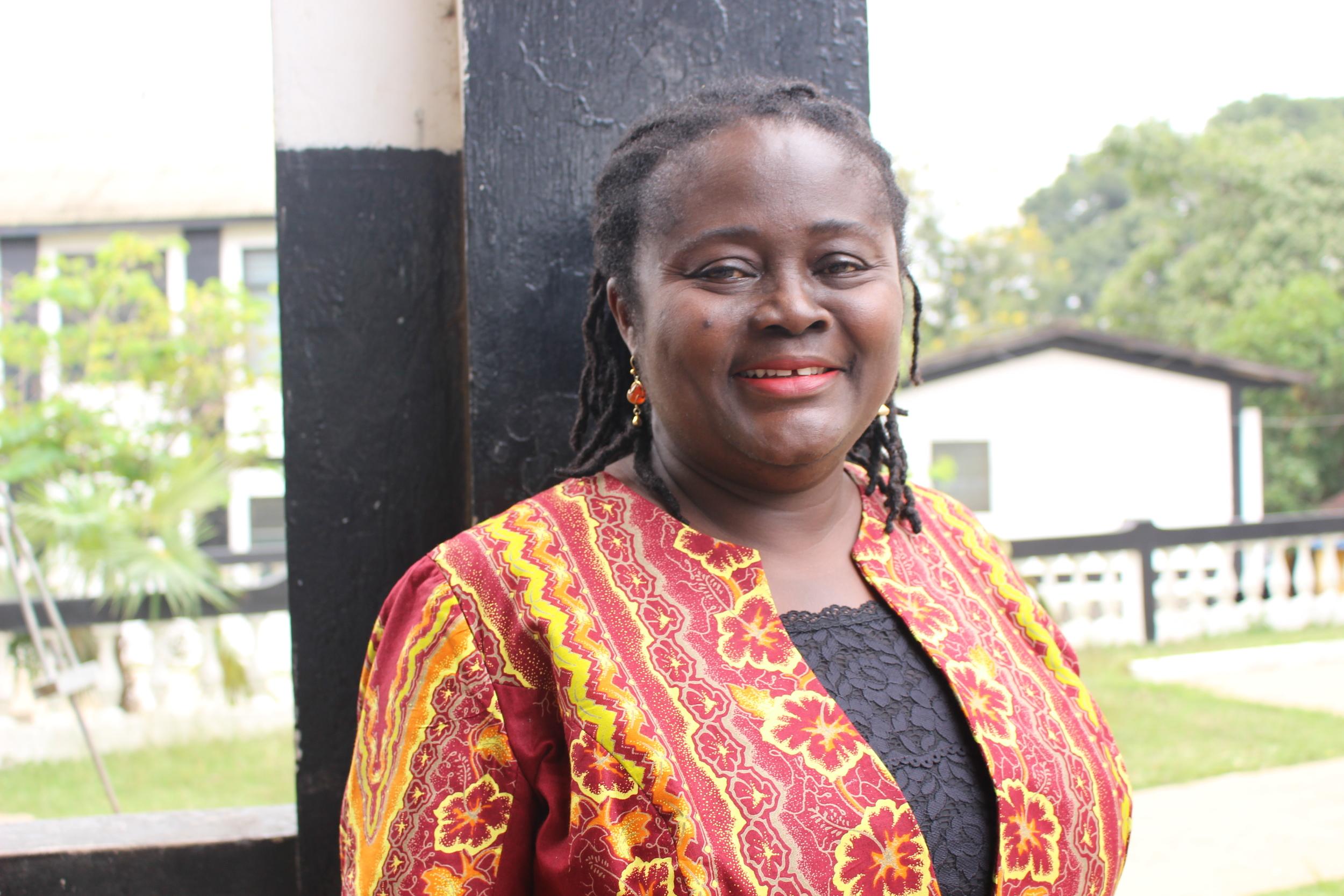 Yaa Peprah Amekudzi, Country Head of Mondelez International  Photo by Stephanie Gasana