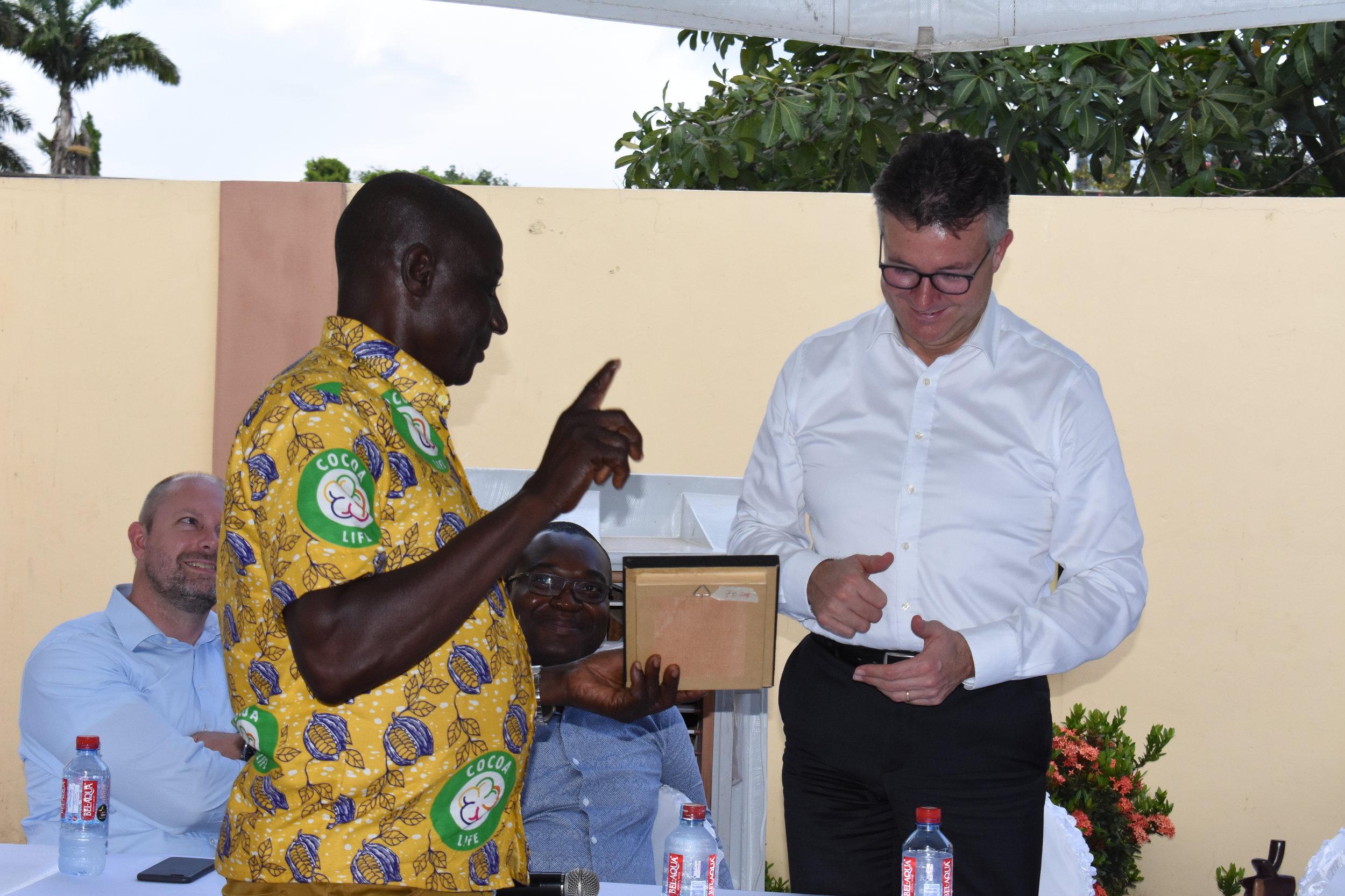 Presentation by Goaso Mondelez Farmers Cooperative, Nana Sarpong