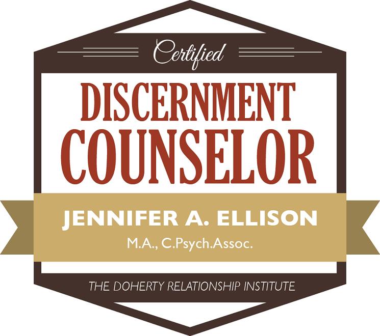 Discernment Counselling Jennifer Ellison Oakville Couples Therapy Separation Divorce.png